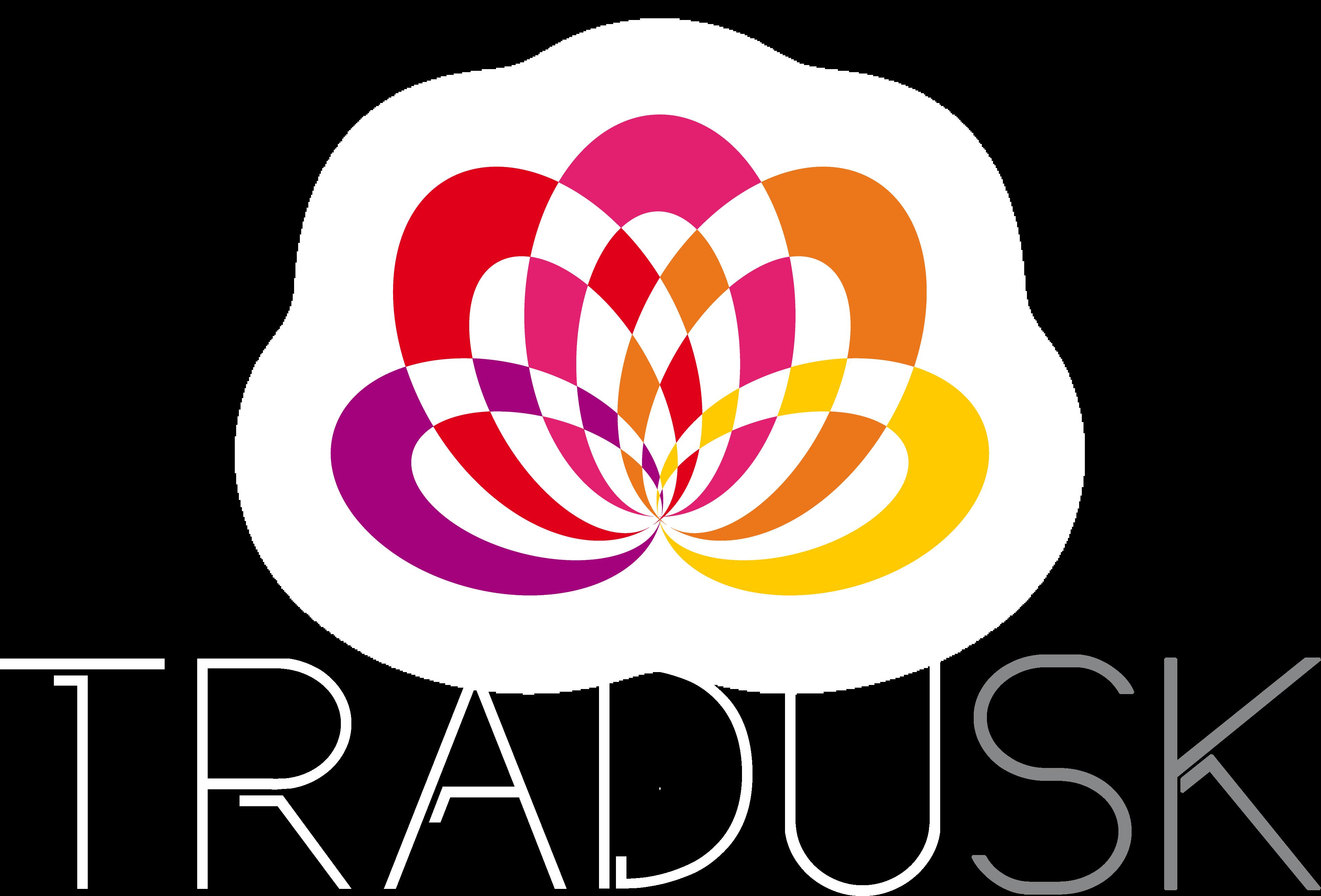 TRADUSK Traductions commerciales, certifiées Logo